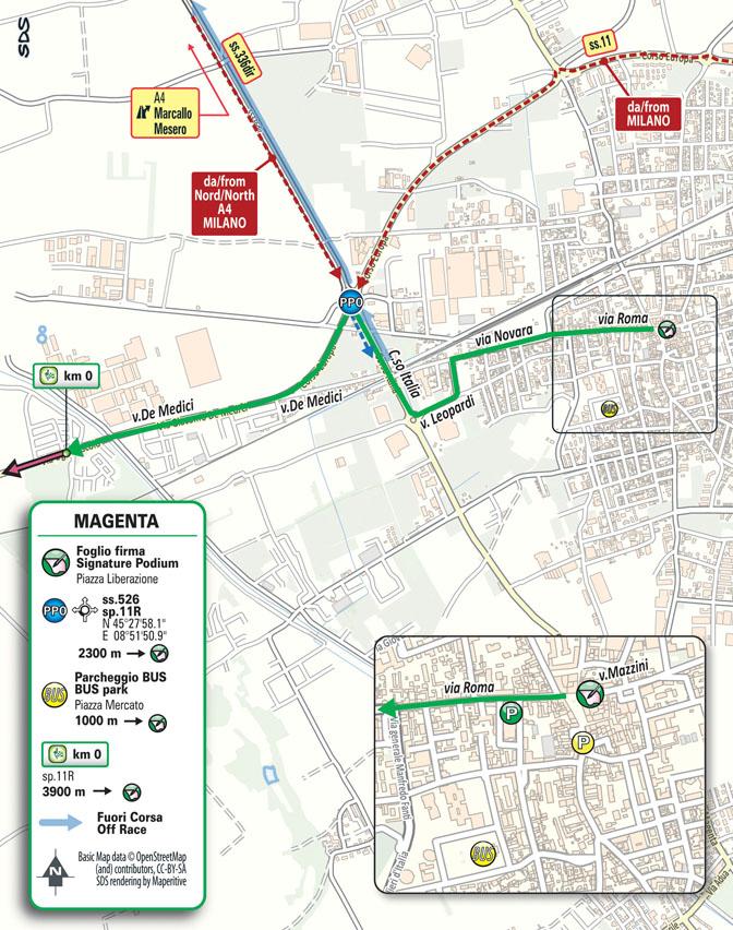 Partenza Milano-Torino presented by EOLO 2021